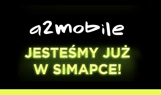 Nowy Operator w Simapce - przedstawiamy a2mobile!
